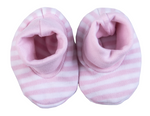 Load image into Gallery viewer, Baby Striped Ribbed Shoes - Little Lumps