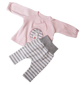 Pink Tunic & Skipants Set - Little Lumps