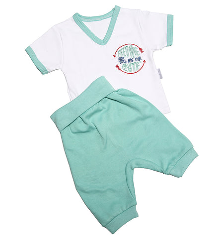 V-Neck Short Set - Little Lumps Baby Clothing Online