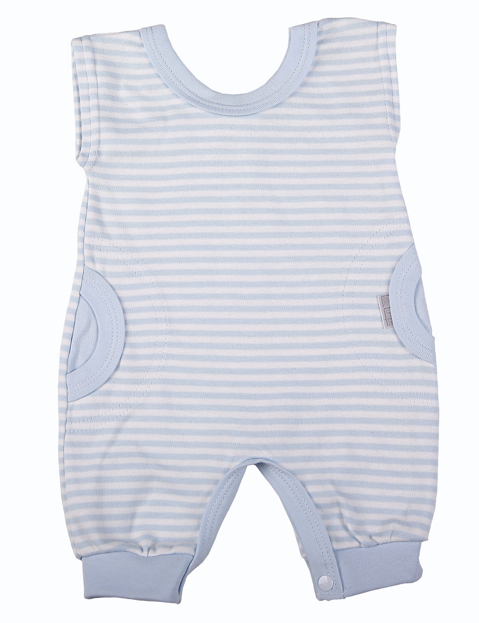 Blue Striped Romper - Little Lumps Baby Clothing Online