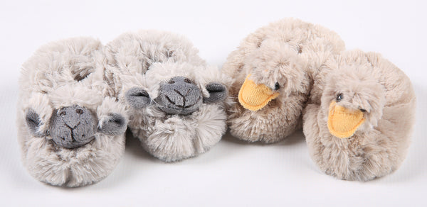 Baby Slippers - Sheep - Little Lumps