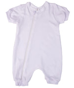 Load image into Gallery viewer, 100% Cotton Infant Zip Summer Romper Babygro