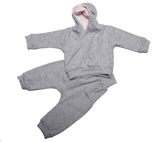 Grey Hooded Tracksuit