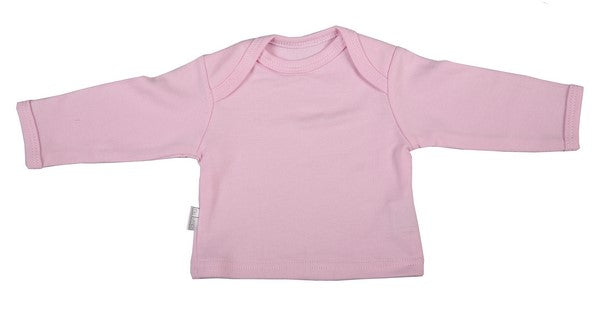 Blank Long-Sleeved Baby T-Shirt With Envelope Neckline (6-Pack) - Little Lumps Baby Clothing Online