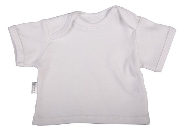 Baby Short Sleeve T-Shirts With Envelope Neckline - Little Lumps