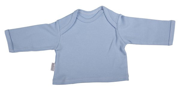 Long-Sleeved Baby T-Shirt With Envelope Neckline - Little Lumps