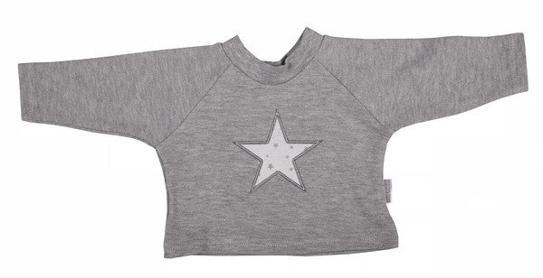 T-Shirt - Raglan Star - Little Lumps Baby Clothing Online