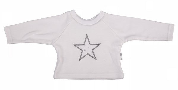 Baby T-Shirt - Raglan Star - Little Lumps
