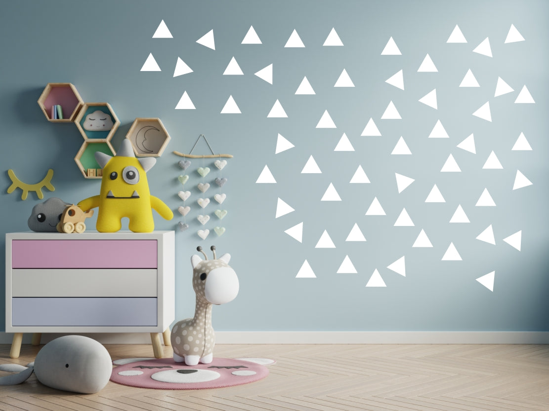 Vinyl Wall Stickers - Triangles