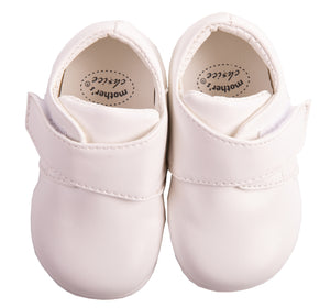 White Velcro Shoes - Little Lumps