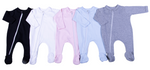 Load image into Gallery viewer, 100% Cotton Infant Zip Opening Babygro - Little Lumps