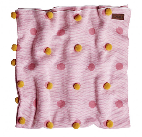 MAY GIBBS X KIP&CO WATTLE POM POM BLANKET