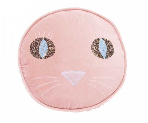 PUSS PEACH CUSHION