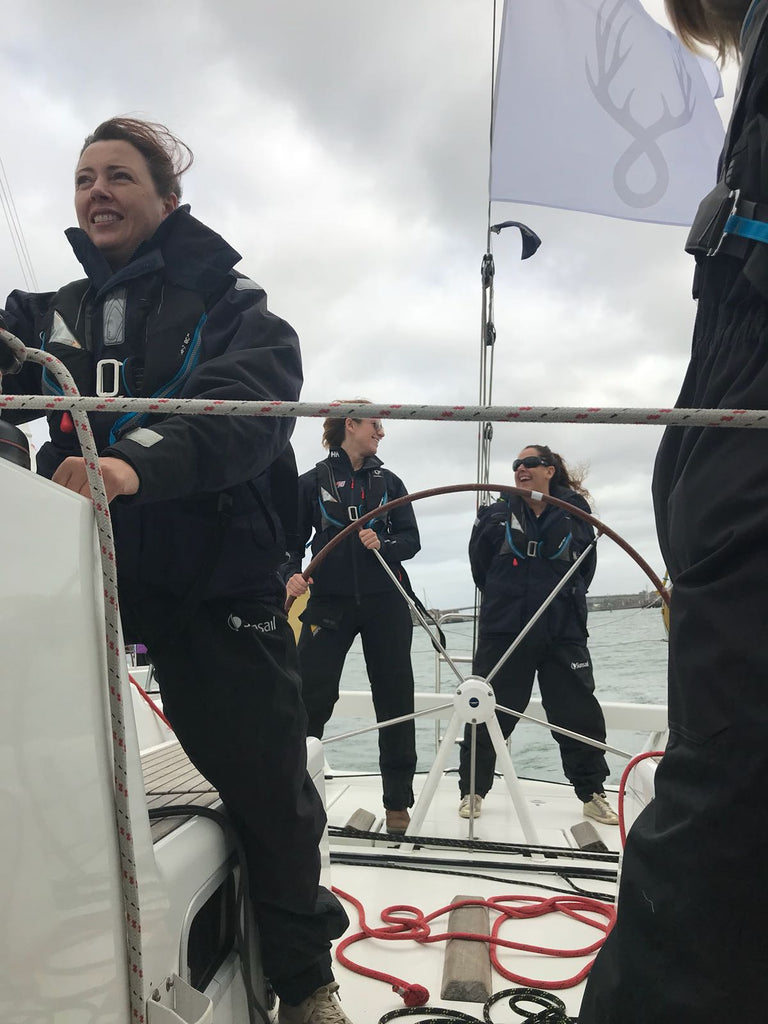 Behind the scenes on the Liz and Fitz yacht for the yachtmarket.com Southampton Boat Show regatta 2018
