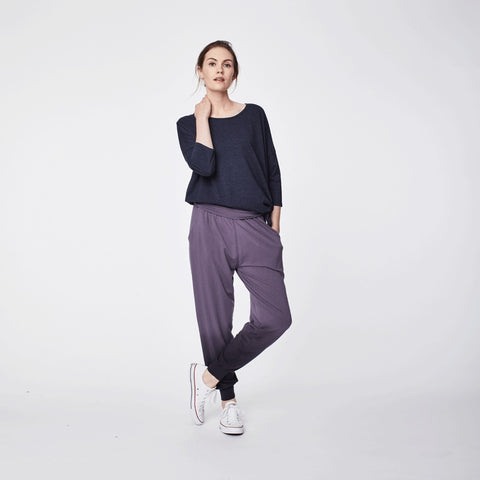 Elsenore bamboo trousers slate