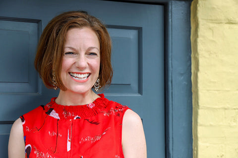Liz Raffles, owner of Liz and Fitz, Winchester's Independent boutique championing British design for men and women