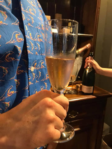 Hattingley English Sparkling Wine at The Mantique Winchester wine and cheese night
