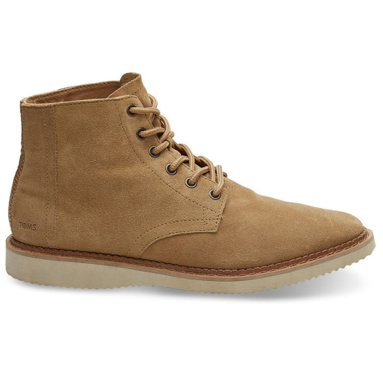 Men's Toffee Brown Suede Boots from TOMS. Available from The Mantique Winchester