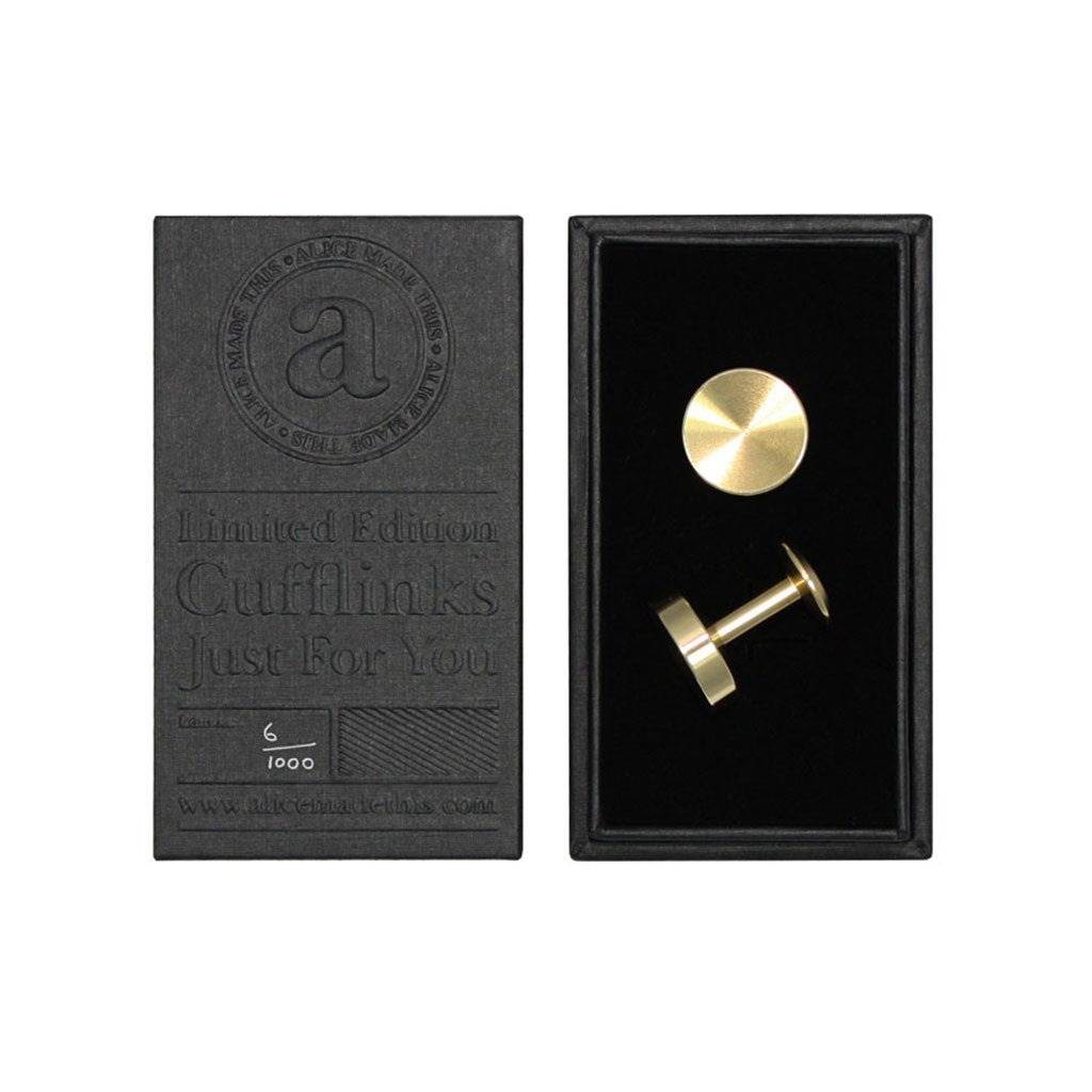 Alice Made This Alexander Brass Cufflinks from the Mantique, Winchester
