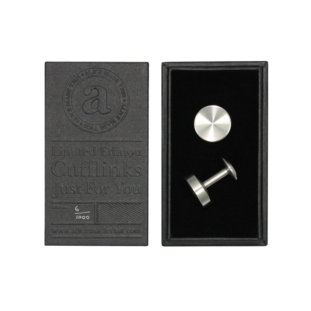 Alice Made This Alexander Steel Cufflinks from The Mantique, Winchester