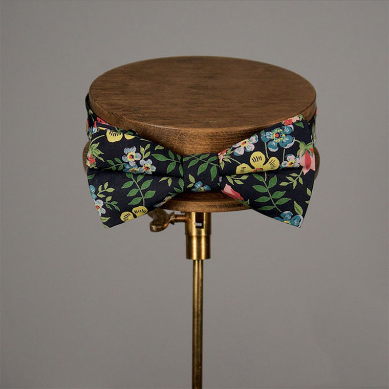Alfred Liberty Print Bow Tie from The Mantique, Winchester