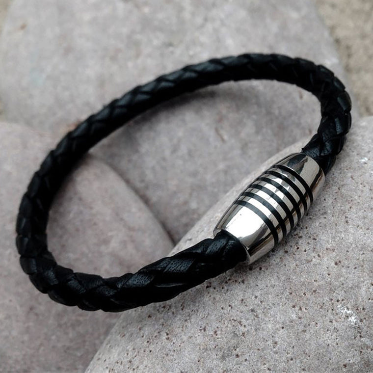 Apollo Leather Bracelet from The Mantique, Winchester