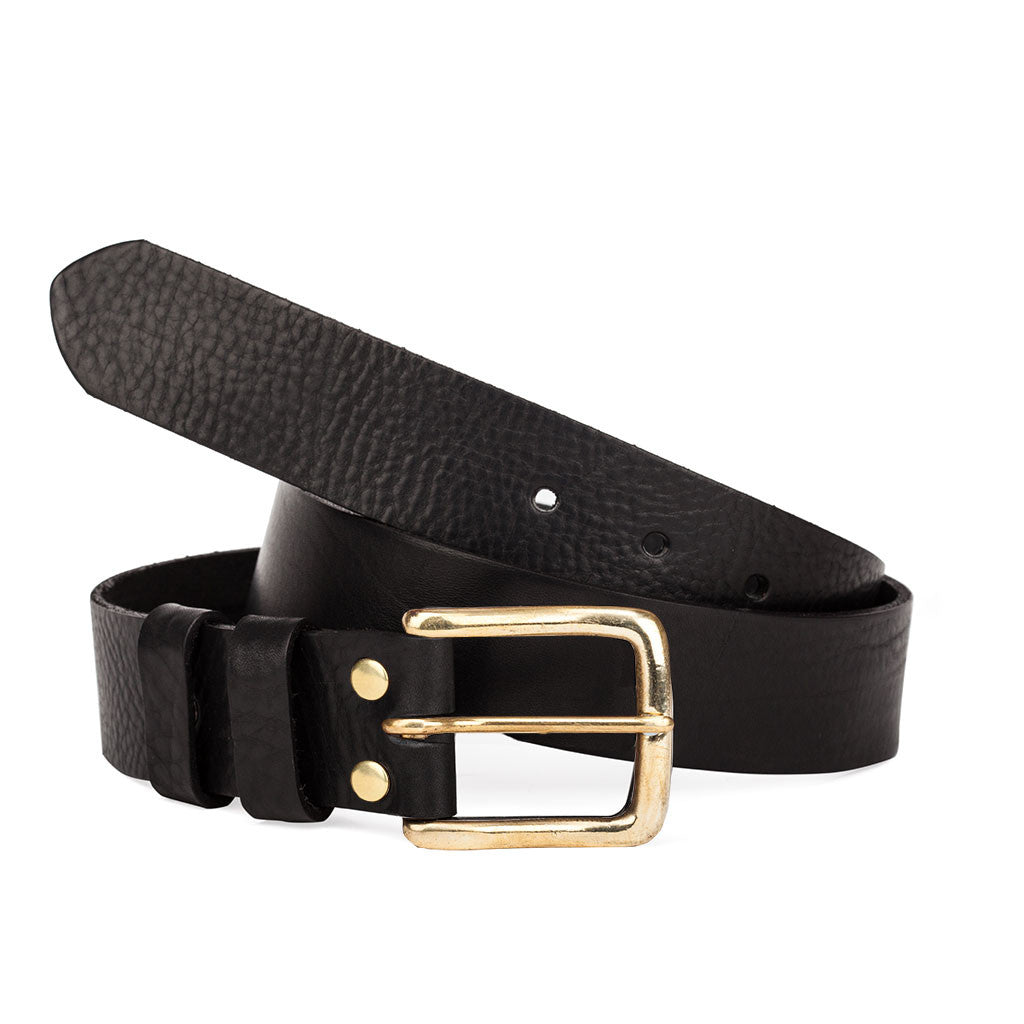 Tanner Bates Dartington Belt with Brass Buckle from The Mantique, Winchester