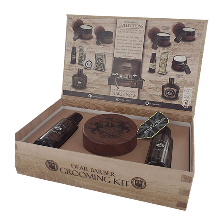 Dear Barber Grooming Collection Gift Set from The Mantique, Winchester