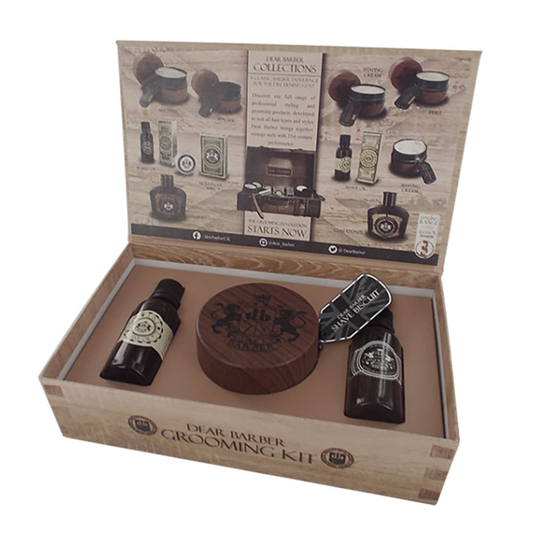Dear Barber Shave Care Gift Set from The Mantique, Winchester