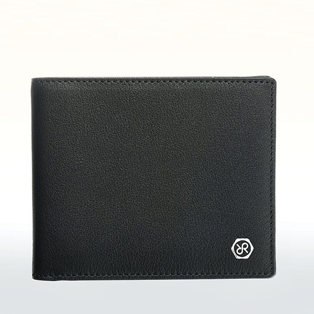 Dom Reilly Black Leather Wallet from The Mantique, Winchester