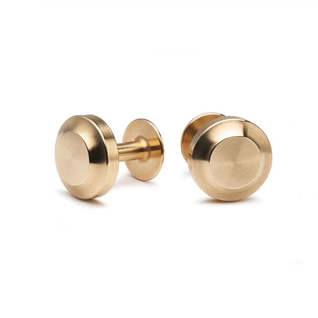 Brass Cufflinks by Alice Made This from The Mantique, Winchester