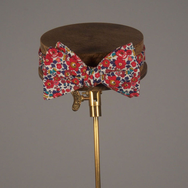 Gregory Liberty Print Bow Tie from The Mantique, Winchester