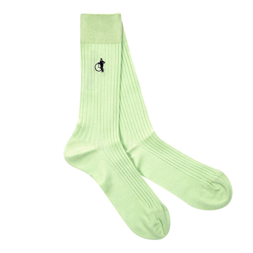 Hyde Park Green Socks from The Mantique, Winchester