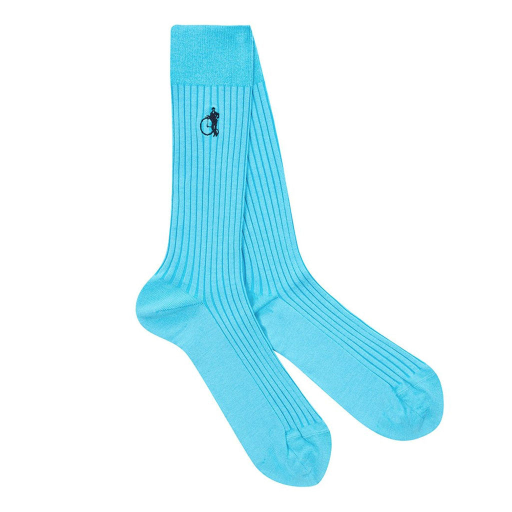 Olde Turquoise Socks from The Mantique, Winchester