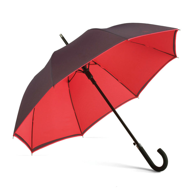Bold Red Walker Umbrella from The Mantique, Winchester