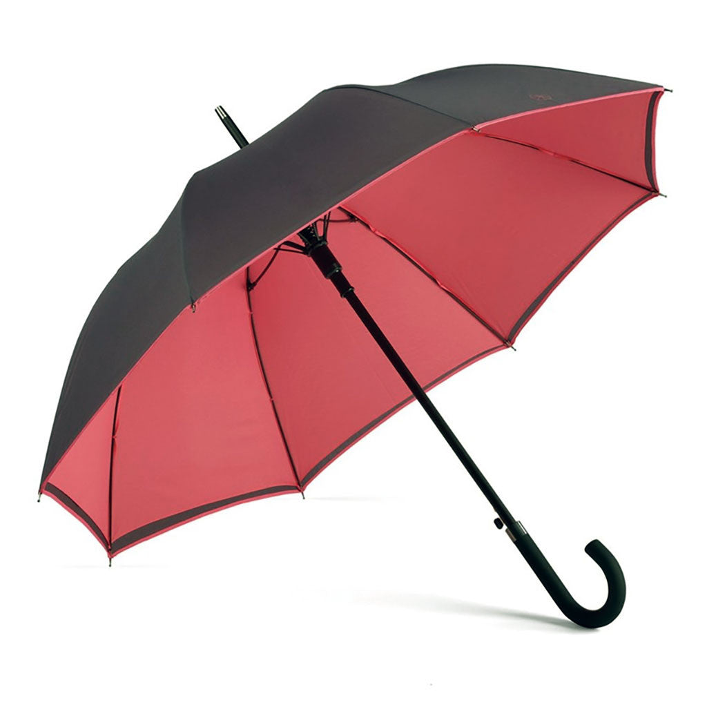 Navy & Berry Walker Umbrella from The Mantique, Winchester