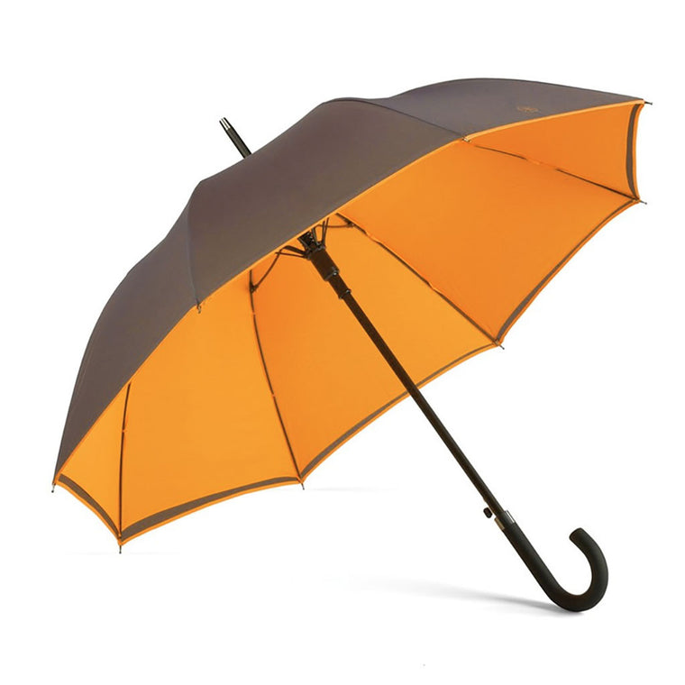 Burnt Orange Walker Umbrella from The Mantique, Winchester