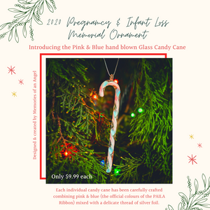 2020 Pregnancy & Infant Loss Memorial Christmas Ornament