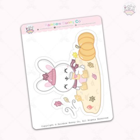 Foo Foo Fall Joy - Jumbo Sticker