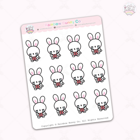 Binky Broken Heart - Sticker Sheet