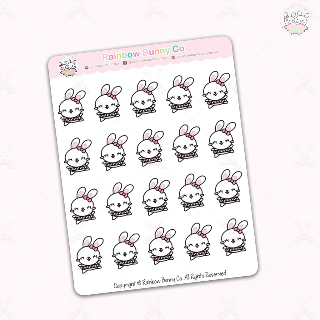 Foo Foo Ballerina - Chonky Version - Sticker Sheet