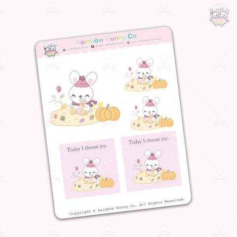 Foo Foo Fall Joy - Sticker Sheet