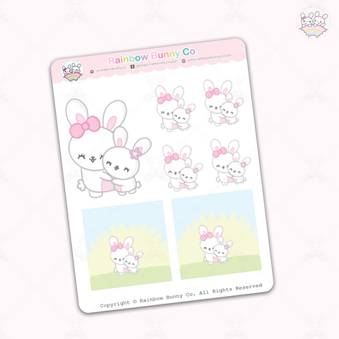 Foo Foo Mommy - Sticker Sheet