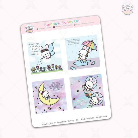 April 2020 Quotes - Sticker Sheet