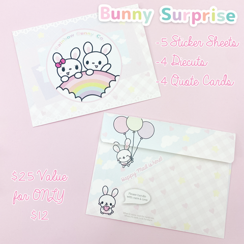 Bunny Surprise Envelope