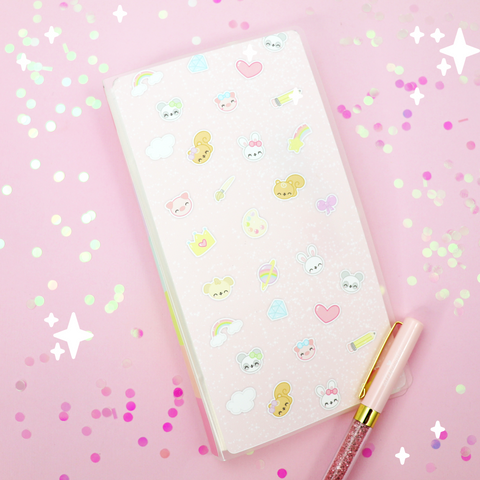 Fall Critters  - Hobonichi Sticker Kit