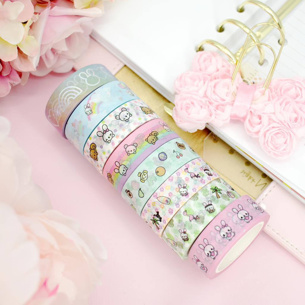 Binky & Foo Foo Washi Bundle