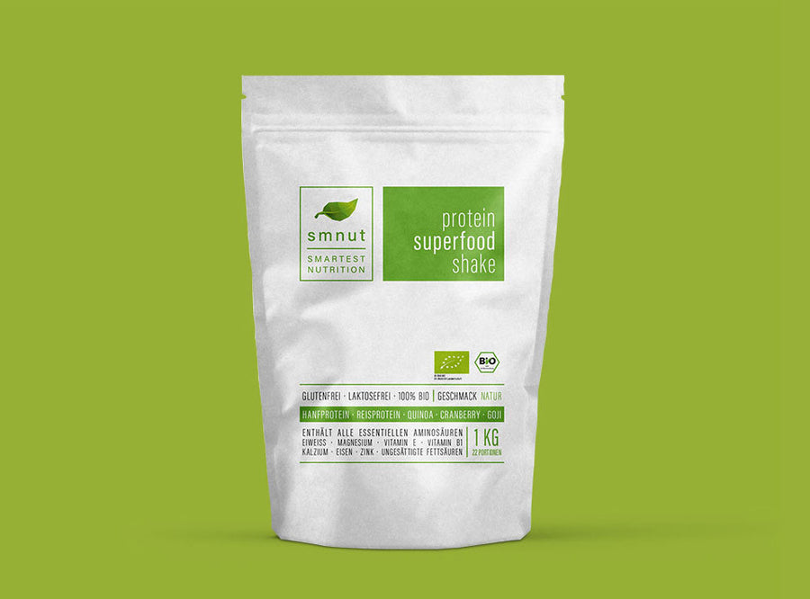 Superfood Protein Shake Natur