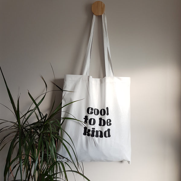 Cool to be kind Reusable Tote Bag - Hello Pickle!