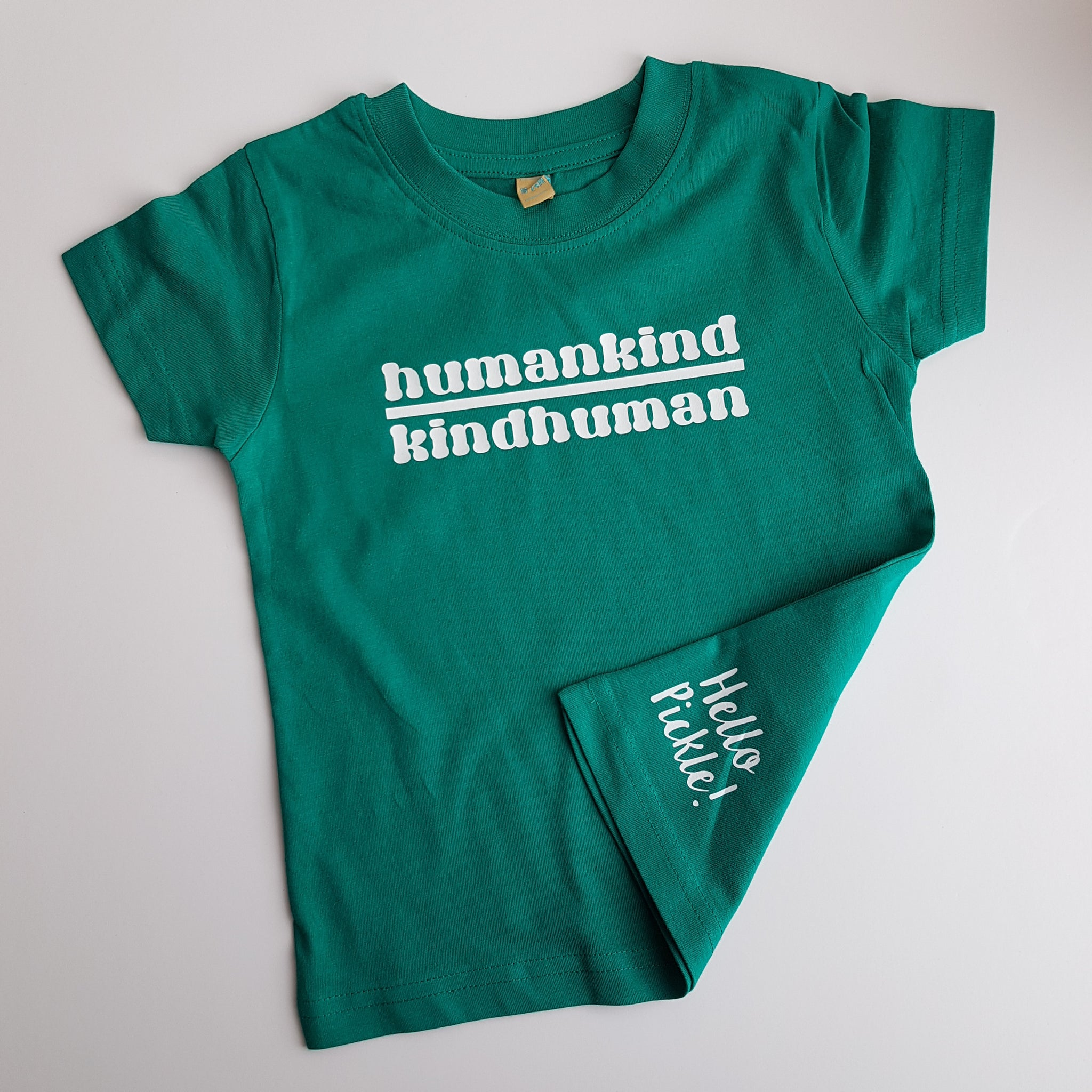 KIDS Humankind Kindhuman Tshirt - Hello Pickle!